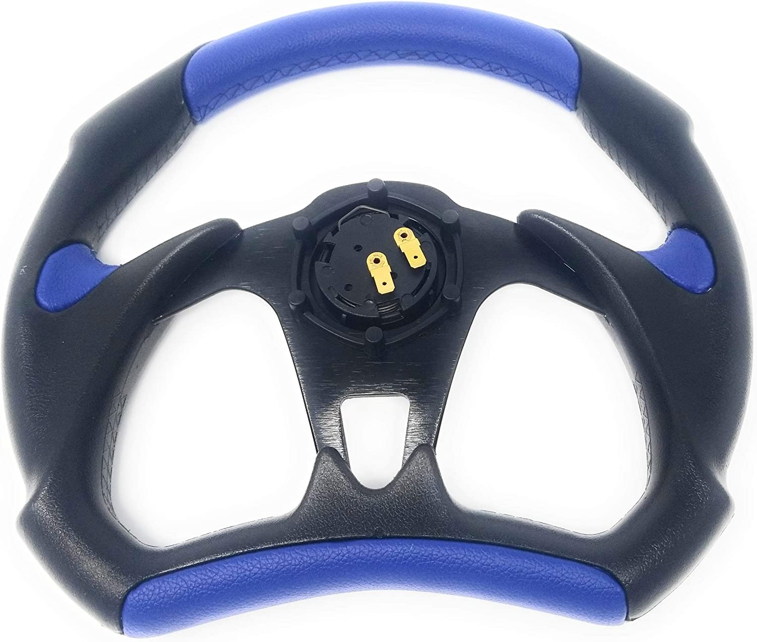 Polaris RZR Steering Wheel with Adapter for 570 800 900 1000 BLUE