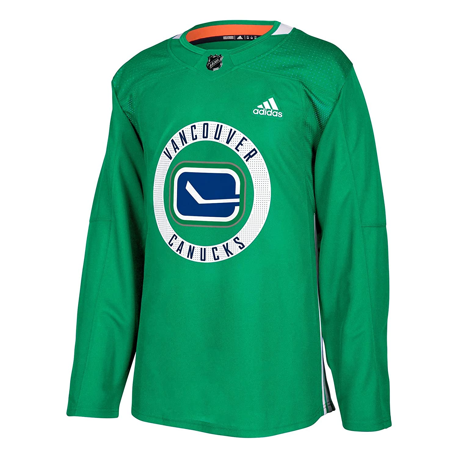 Vancouver Canucks adidas adizero NHL Authentic Pro Practice Jersey - - 54  (XL) 1fc2e3db342
