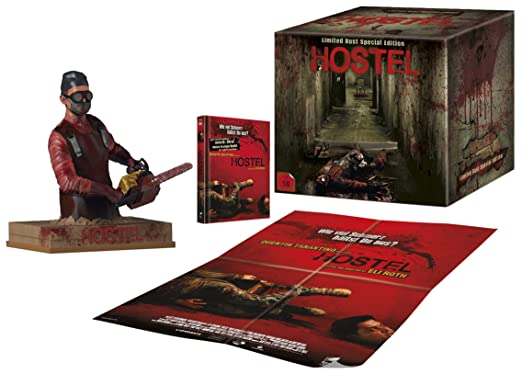 Hostel (Limited Bust Special Edition inkl. Mediabook + Figurine + Poster) (exklusiv bei Amazon.de) [Blu-ray]