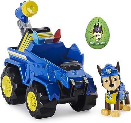 Vehículo de Rescate Chase Dino y Figura de acción: Amazon.es: Juguetes y juegos