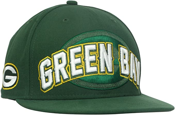 Amazon.com   NFL Green Bay Packers Draft 5950 Cap   Sports Fan Baseball Caps    Clothing aae24ccd0ce