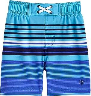 Boys Superbank Board Shorts Coolibar UPF 50 Sun Protective