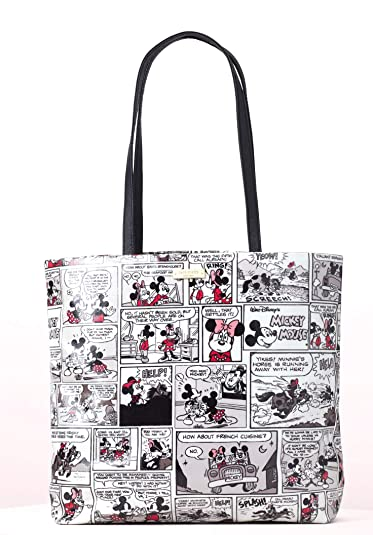 b19baab9af2 Image Unavailable. Image not available for. Color  Disney Kate Spade New  York For Minnie Mouse Comic Tote Bag Purse