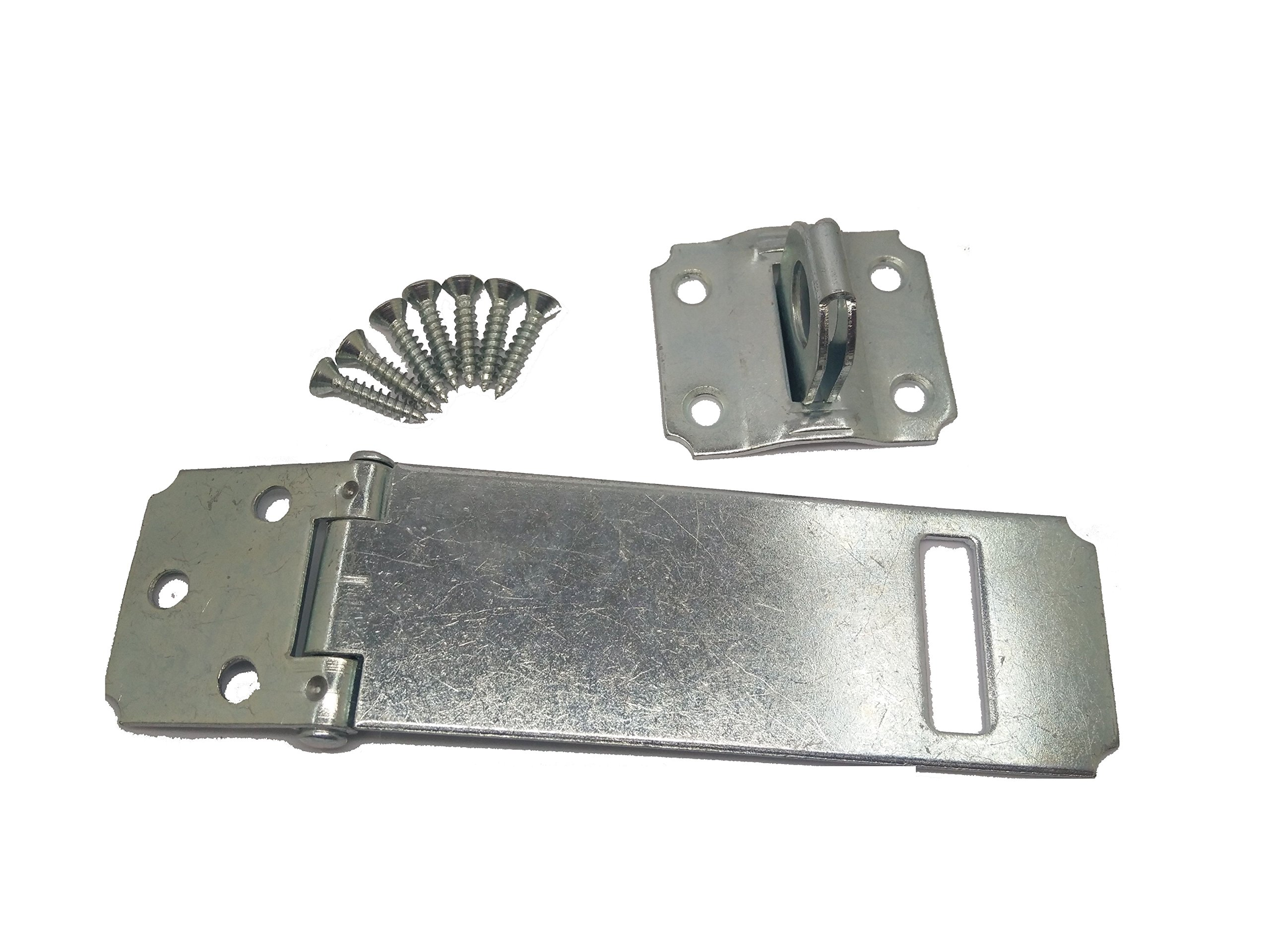 Specialty Hardware Safety Hasp 4-1/2 inch Zinc Plated Pack of 30
