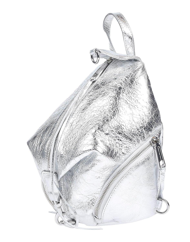 (レベッカミンコフ) REBECCA MINKOFF レディースバックパック&ファニーパック Women`s Backpack (並行輸入品) B07S9NLXKG シルバー One Size