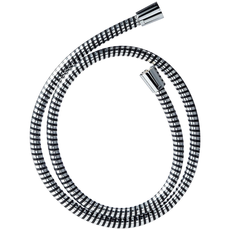 1,25 m poliertes Chrom Duschschlauch mit Spiralwicklung Basics