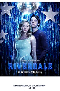 RARE POSTER thick cole sprouse RIVERDALE tv 2017 jughead REPRINT #d/100!