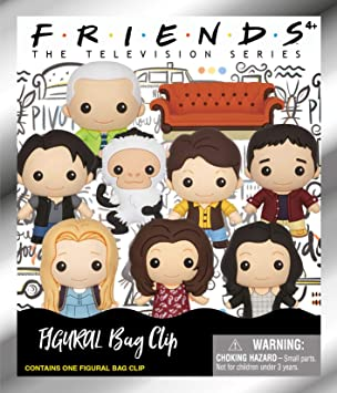 Monogram Friends Figural Foam Llavero (1 Random): Amazon.es ...