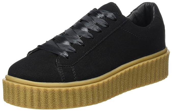 ICHI Damen A Margot FW Sneaker, Schwarz (Black), 38 EU