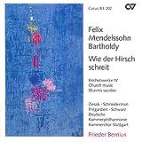 Mendelssohn, Felix: Church Music, Vol. 4 - Psalm 114 / Psalm 42 / Lauda Sion (Stuttgart Chamber Choir)