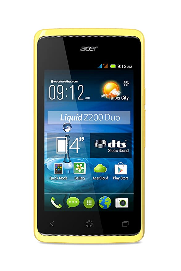 Acer Liquid Z200 Duo - Smartphone (USB, sistema Android 4.4 KitKat ...