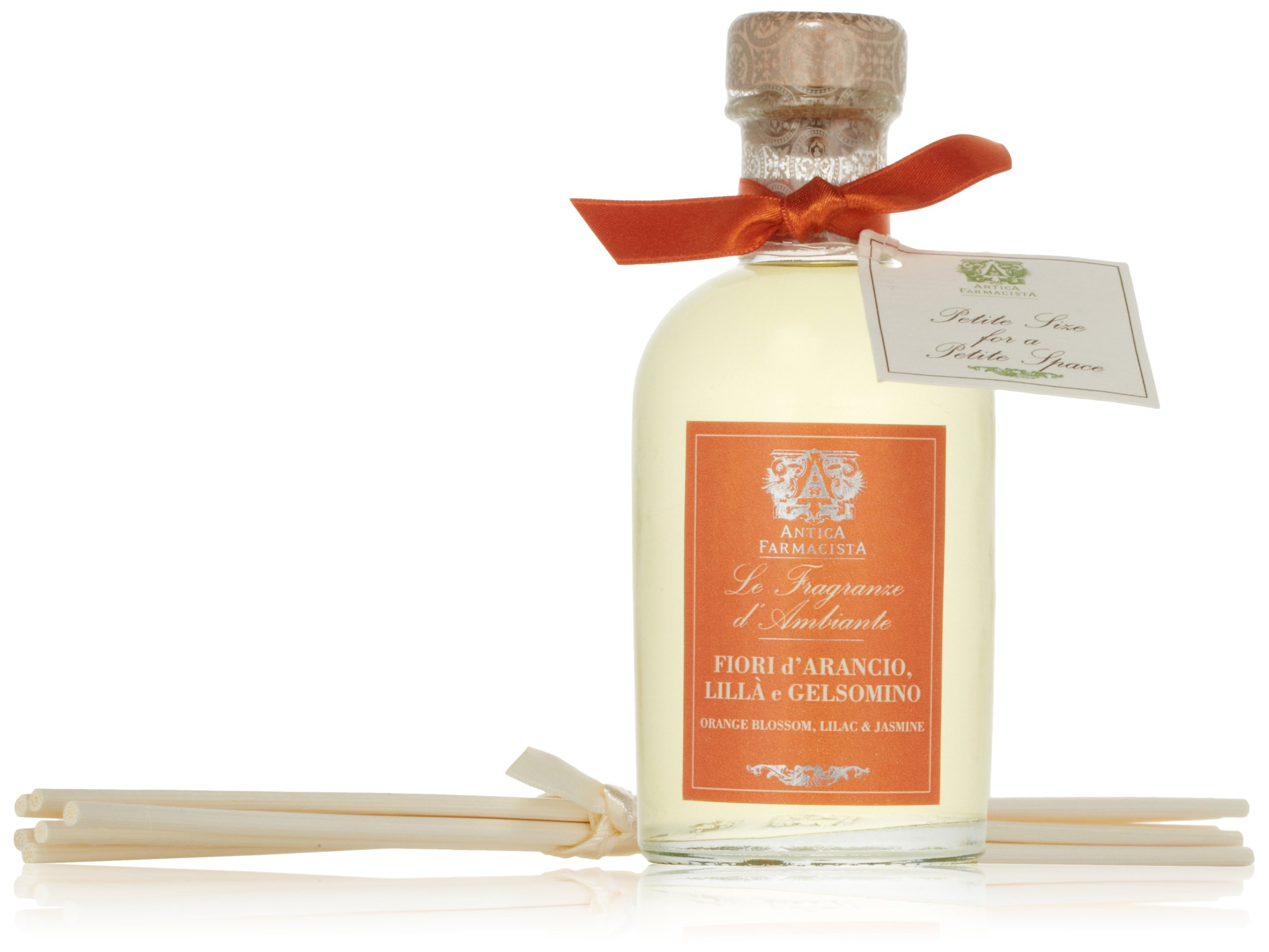 Antica Farmacista Home Ambiance Diffuser, Orange Blossom, Lilac & Jasmine, 100 ml.