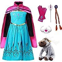 Perfect Pairz Princess Costumes Snow Queen + Bonus Plush Toy