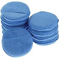 10 Pcs Applicator Pads Cleaner Washable Polishing Sponges