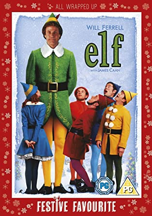 Elf Dvd 2003 Amazon Co Uk Will Ferrell James Caan Bob