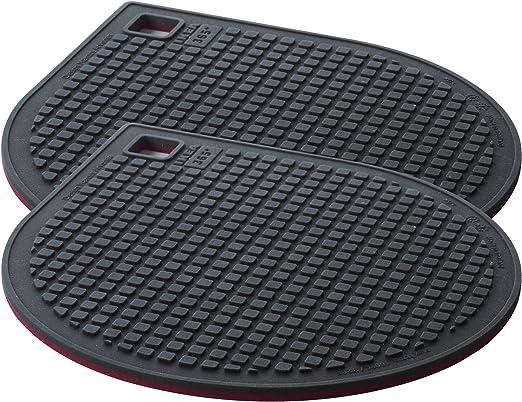 Compra IKEA 365+ GUNSTIG - Salvamanteles magnético, rojo, gris oscuro (paquete de 2) en Amazon.es