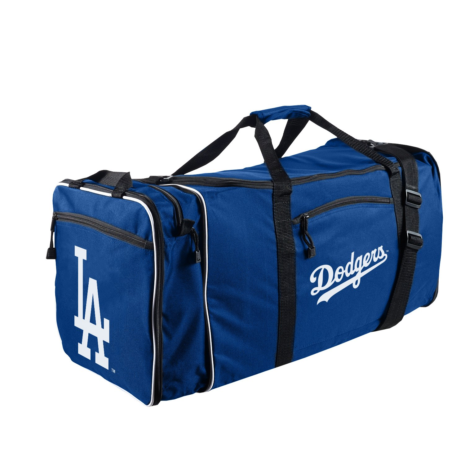 The Northwest Company Officially Licensed MLB Los Angeles Dodgers Steal Duffel bag, 28'' x 11'' x 12''