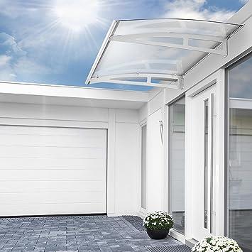Gut bekannt Vordach Set für die Haustür   Glasvordach – BxT: 150x90 cm LY75