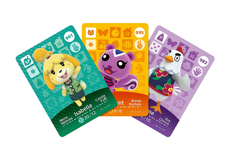 Nintendo - Pack de 3 tarjetas Amiibo Animal Crossing - Serie ...