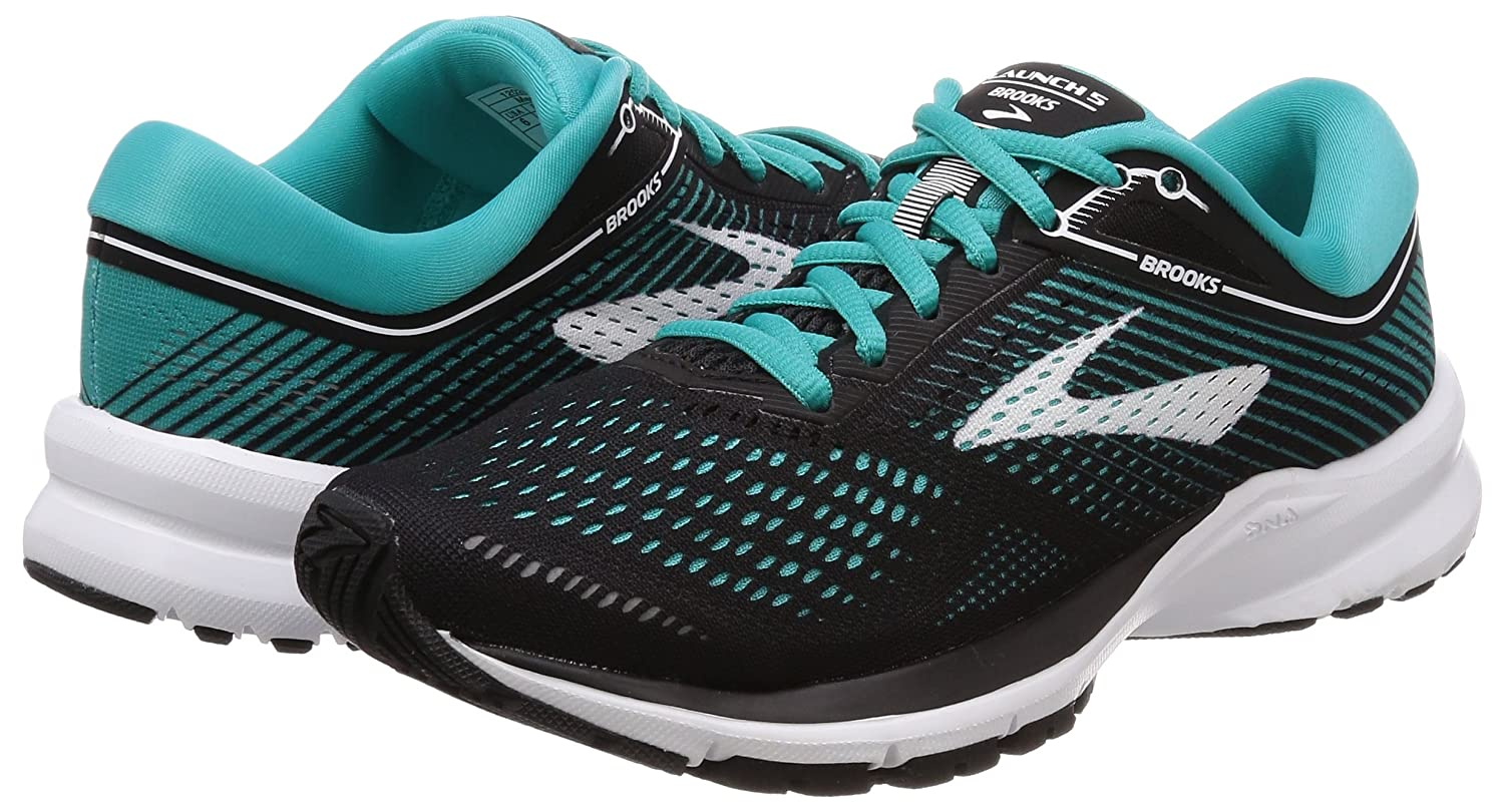 Brooks B071VKHKMR Womens Launch 5 B071VKHKMR Brooks 11 B(M) US|Black/Teal Green/White 346d8e
