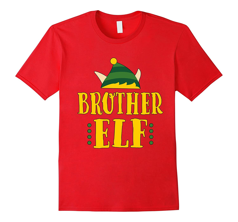 Brother Elf T-Shirt Matching Christmas Pajamas-FL