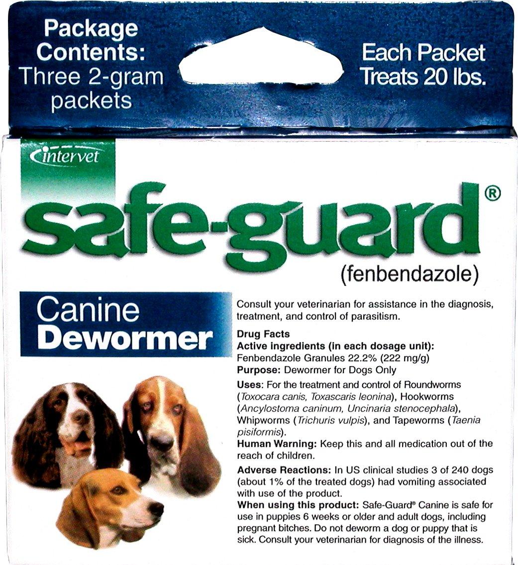 Merck Animal Health Safe-Guard Canine Dewormer, 2 gm