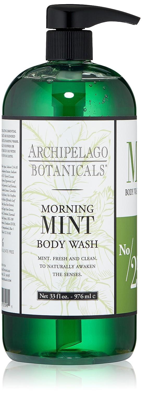 Archipelago Botanicals Morning Mint Body Wash 32.0 oz 28514