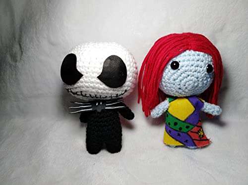 Jack Skeleton y Sally.Amigurumi. Handmade: Amazon.es: Handmade