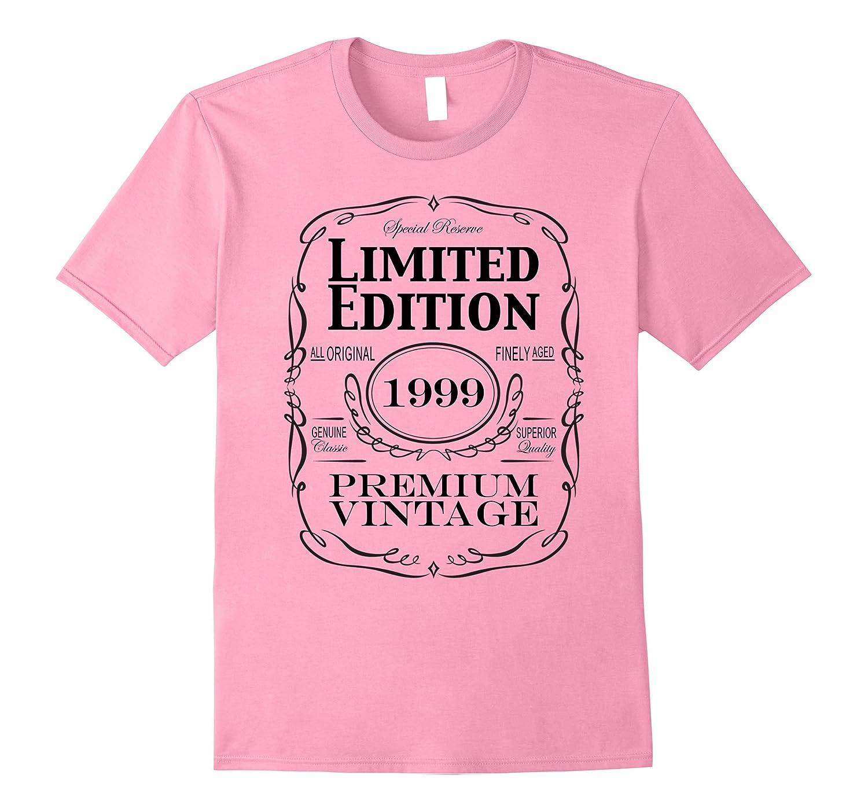 Born In 1999 Turning 18 Shirt