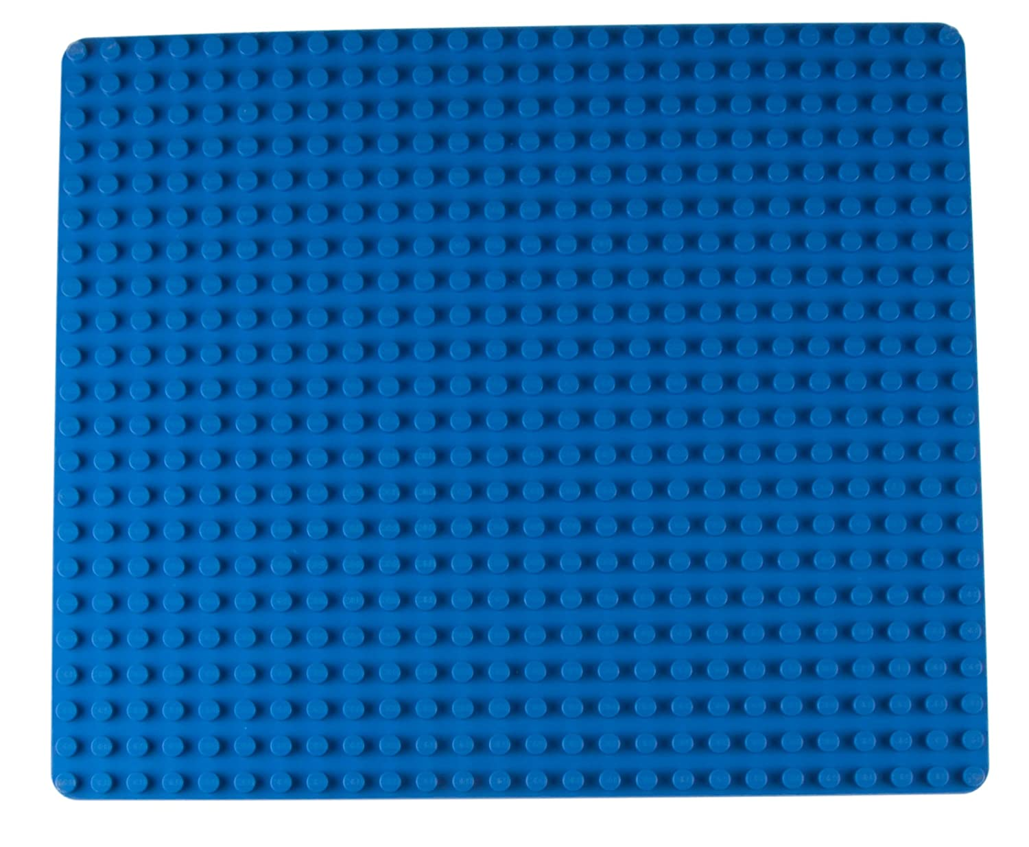 "Classic Big Briks Baseplate by Strictly Briks | 100% Compatible with All Major Brands | Large Pegs for Toddlers | 13.75"" x 16.25"" Building Brick 