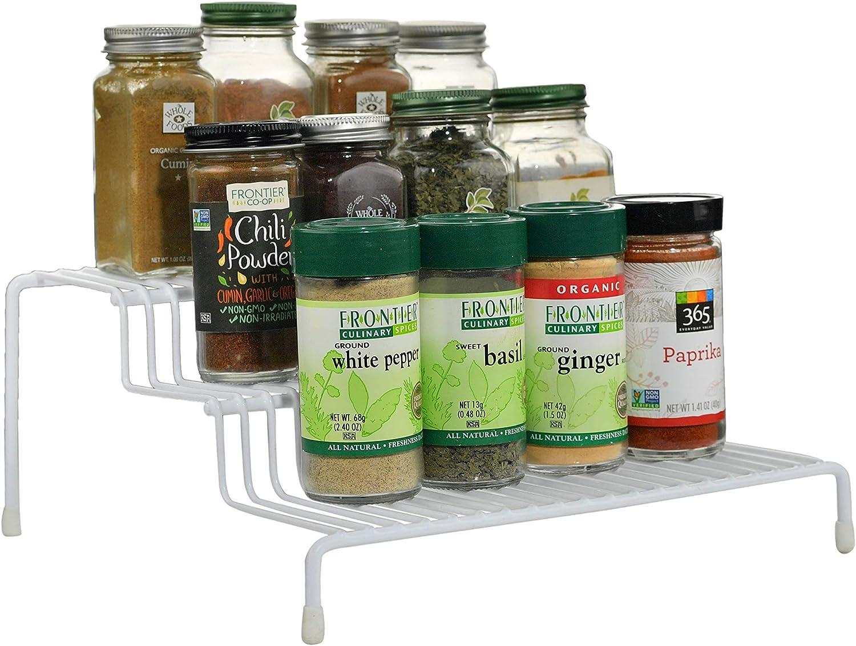 Cabinet Organizer, 3-Tier Spice Organizer Rack - by Home-X