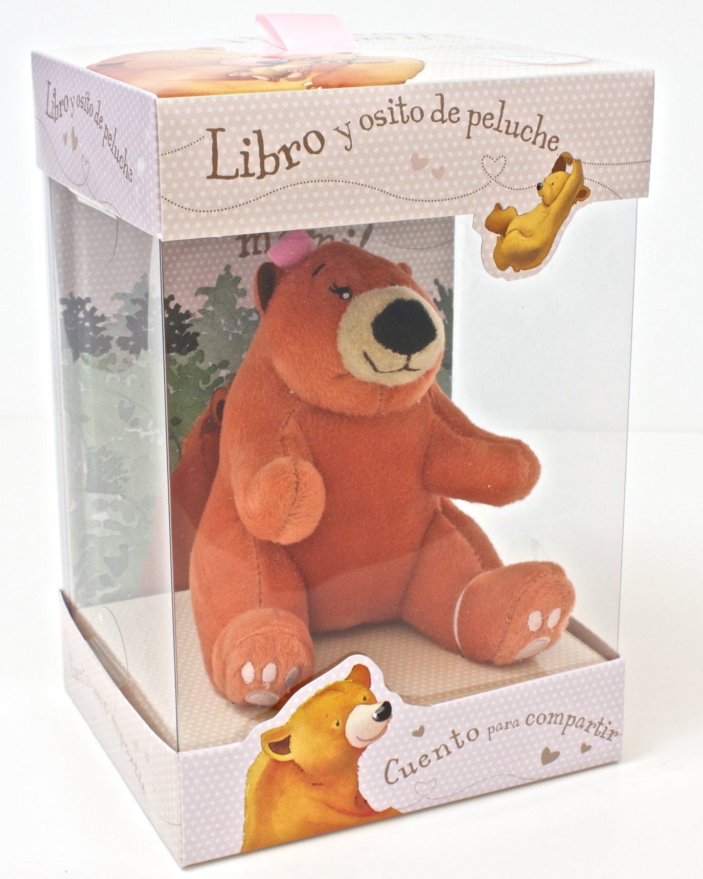 Libro y osito de peluche, ¡Te quiero, mami! (Book and Soft Toy) (Spanish Edition) (Spanish) Hardcover – August 31, 2012