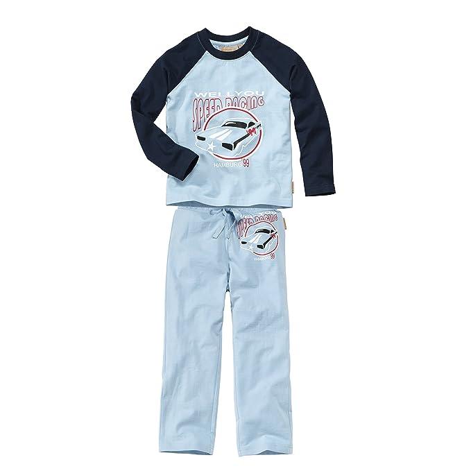 Joven Pijama Raglan lamg Celeste azul claro 104 - 110 cm