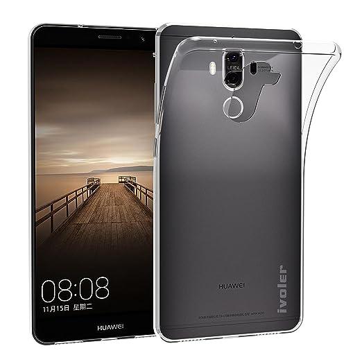 23 opinioni per Custodia Cover Huawei Mate 9, iVoler Huawei Mate 9 Silicone Caso Molle di TPU