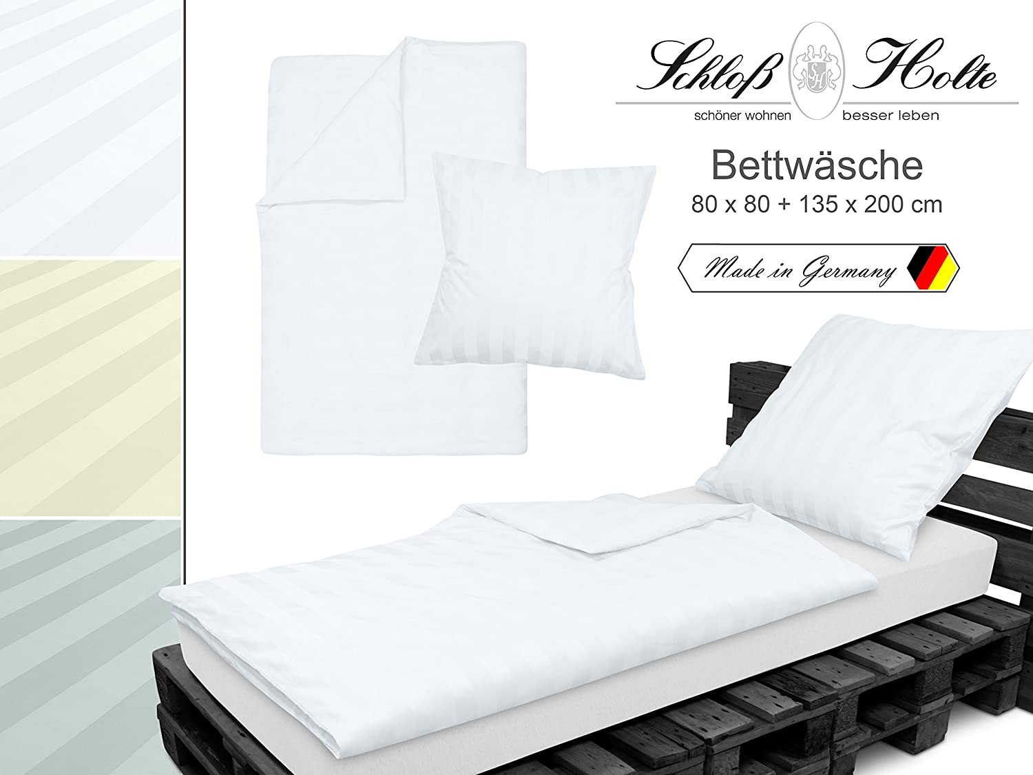 bettw sche sch ner wohnen biber bettw sche 70x140 farben. Black Bedroom Furniture Sets. Home Design Ideas