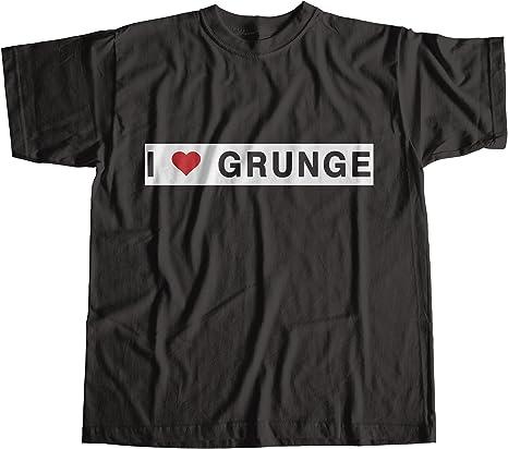 Robot Rave I Love Grunge Worn by Eddie Vedder Camiseta 100% Algodon: Amazon.es: Ropa y accesorios