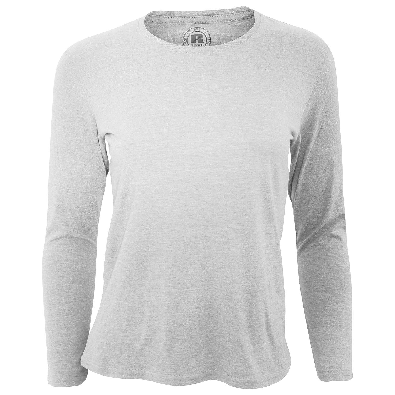 Russell Older Girls Long Sleeve HD T-Shirt UTRW4722_1