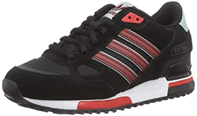 adidas Originals Women's ZX 750 Trainers Black(Core BlackRust Red F15 St