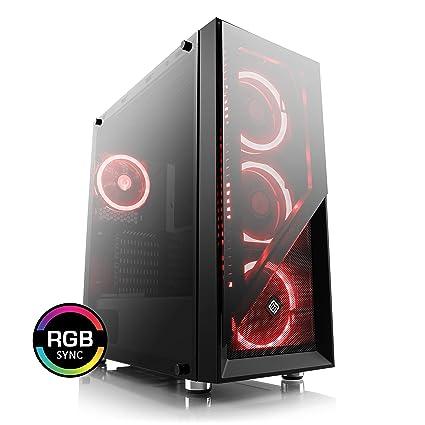 CSL-Computer Ordenador de sobremesa boostboxx Gaming Carcasa ...