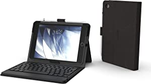 """ZAGG Messenger Folio - Bluetooth Tablet Keyboard - Non-Backlit - Made for Apple iPad Mini 5 (7.9"""") – Charcoal"""