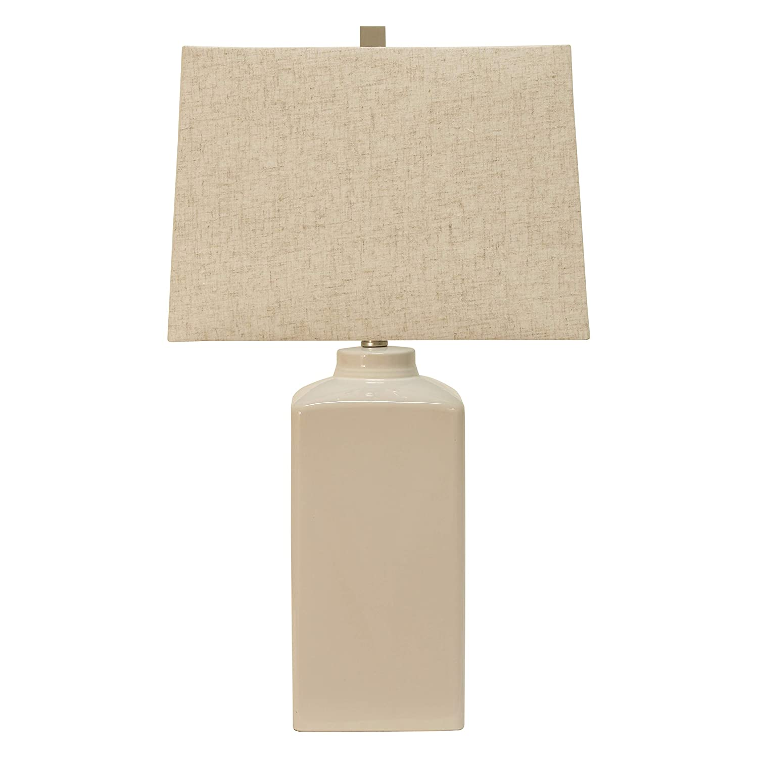 Decor Therapy TL17297 Table Lamp, White