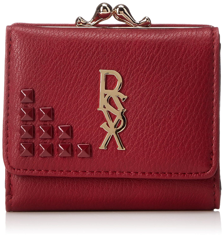 [リゼクシー]RSX パーツ ガマ口ウォレット 三つ折りサイフ 財布 REX-17300 B07D4KDJLR レッド レッド