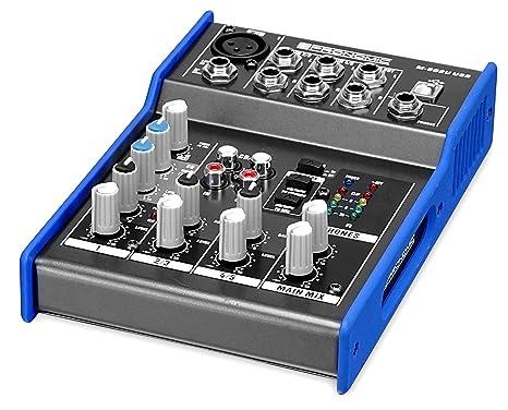 Pronomic M de 502U Live/Studio mesa de mezclas (1 Mono de canal ...