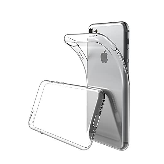 1 opinioni per Custodia iPhone 7, Ikupei Ultra Sottile iPhone 7 Cover Silicone Cristallo Chiaro