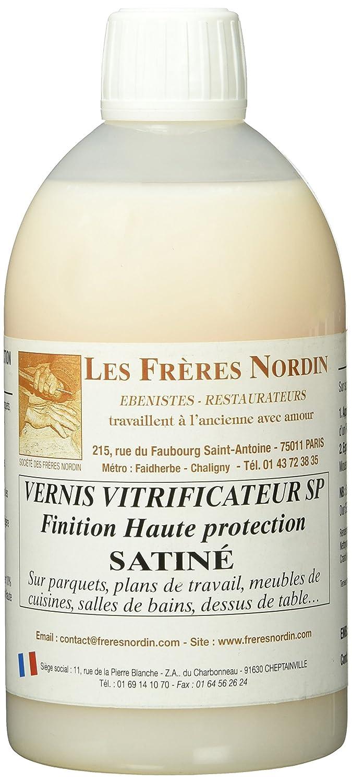 Les Frè res Nordin 152512 Vernis Vitrificateur Satine, Multicolore Les frères Nordin