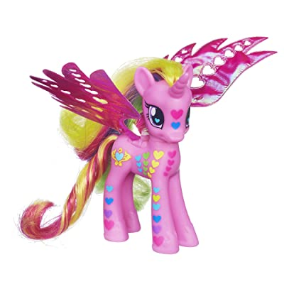 My Little Pony Fantastic Flutters Princess Cadance Figure Doll: Toys & Games