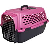 Petmate Vari Kennel II Fashion, 24-inch, Dark Pink/Black