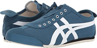 online store 40a31 77c90 ASICS Onitsuka Tiger Unisex Mexico 66 Slip-On Ink Blue/White ...