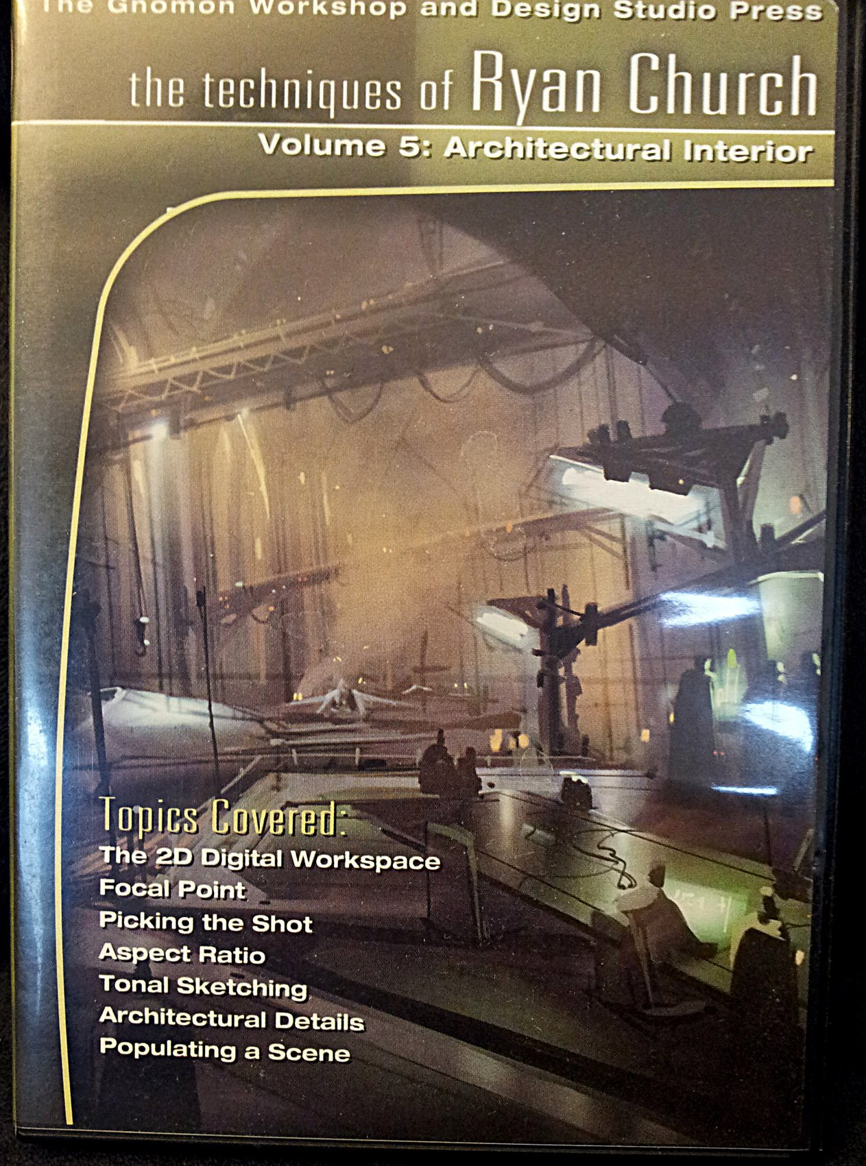 Download The Techniques of Ryan Church: No. 5: Rendering Architectural Interiors pdf
