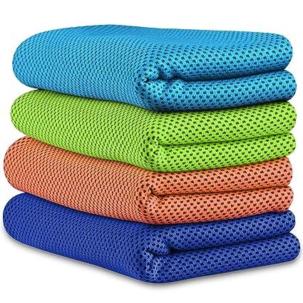 Amazon.com: ATUP toalla de enfriamiento instantáneo de 40 x ...